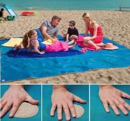 Wholesale Family Cell - 1 Pc Lot 2 Size Choose Sand Free Beach Magic Mat Outdoor Picnic Camping Large Mattress Waterproof Bags Mattress Pad