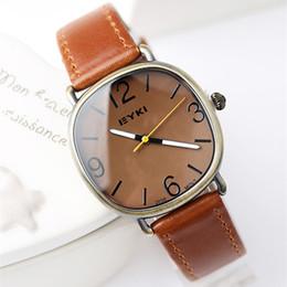 Wholesale Eyki Women - Luxury Bracelet Women Watches Leather Strap Round Ladies Quartz Watch Women Wristwatch Relogio Feminino Montre Femme Reloj Muje