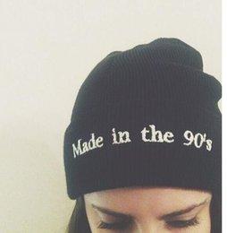 Сделано в 90-х Шапочка шляпа с пом зимние шерстяные шапочки шляпы вязаные шапочка для лыж череп шапки от