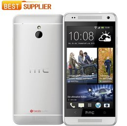 Wholesale One M4 - 2016 Original HTC ONE MINI 610e M4 Unlocked Cell phone 3G 4G 16GB Storage 1GB RAM Wifi GPS Android refurbished cellphone