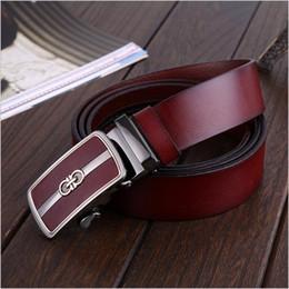 Wholesale Mens Grey Leather Belt - 2016 mens belts luxury brand designer belts men high quality Genuine leather belt Cowhide belts of men ceinture cinto feminino