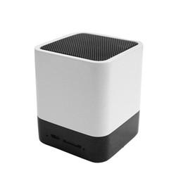 Wholesale Wireless Soundbar Speaker - Wireless Speakers Bluetooth Mini Speaker Soundbar Amplifier Audio Portable Alarm Clock Multifunction With LED Time Display TF HandsFree