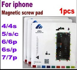 Wholesale Iphone 4s Screw Mat - mixed order Magnetic Mat Screw Keeper Chart Professional Guide Pad for iPhone   7 plus 6s 6 plus 5 5s 5c 4s 4