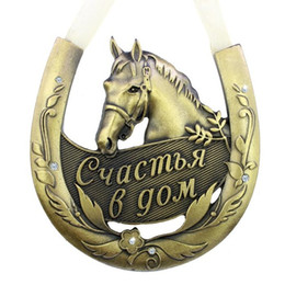 Wholesale Horse Careers - 2015 Free shipping Fashion Products the strong and healthy Horse Horseshoe the Home Decoration Gifts for the Happy Family GIFTS