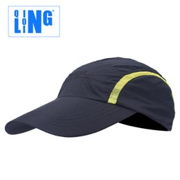 Wholesale Baseball Caps Scarves - Qinglong Lin outdoor equipment dry summer sun visor Baseball Cap Hat Cap and peaked cap 001