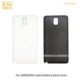 Wholesale Galaxy Note Case 5pcs - 5pcs lot For Samsung Galaxy Note 3, Note 4 Black White Gold Battery Cover Back Housing Full Back Cover Door Rear Case Phone Parts