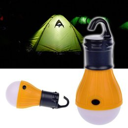 Wholesale Hanging Led Lights Camping - Wholesale-Soft Light Outdoor Hanging LED Camping Tent Light Bulb Fishing Lantern Lamp carpas linterna camping portable light led lantern