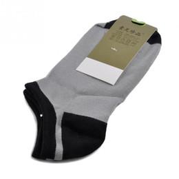 Wholesale Crew Socks Colors - Wholesale-6 Colors men Socks Short Ankle Boat Low Cut Sport bamboo fiber Socks Crew Casual New