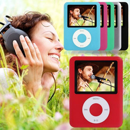 Wholesale Mp3 Game - Free Shipping New 8GB Slim 1.8 inches LCD 3th MP4 Player mp3 player, Video, Photo Viewer, eBook, Recorder 6 COLORS FM VIDEO 3TH GEN R-681