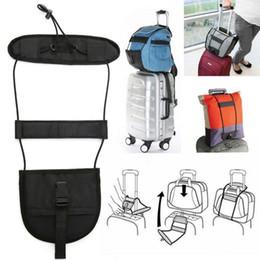 Wholesale Luggage Bag Fabric - Bag Strap Travel Luggage Suitcase Adjustable Belt Carry On Bungee Easily Luggage Bag Strap Travel Accessories LJJO2698