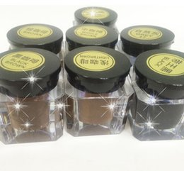 Wholesale ink cheap - Very Cheap Practice Pigment Eyebrow Micro Tattoo Ink Set Lips Microblading Permanent Makeup Pigment 7 Colors Optional