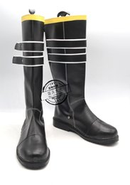 Wholesale Vocaloid Shoes - Wholesale-VOCALOID Kagamine Rin ren noew come 2 Cosplay Boots shoes shoe boot #NC424 Halloween Christmas