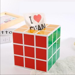 Wholesale Wholesale Tower Boxes - Wholesale- Plastic Creative Carton Decro Tissue Case Paper Hold Toilet Paper Tower Roll Table Napkin Tissue Holder Cube Tissue Box Cover