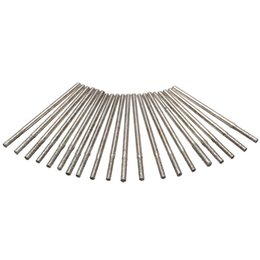 Wholesale Glass Tile Drill - 20pcs 2.35mm Shank Diamond Coated Drill Bits Glass Tile Ceramic Marble Rotary Tool Set