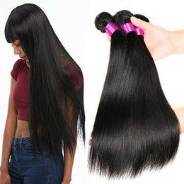 perm capelli remy Sconti Capelli indiani europei peruviani cambogiani malesi mongoli vergini brasiliani bundles 10A capelli umani non trattati di remy