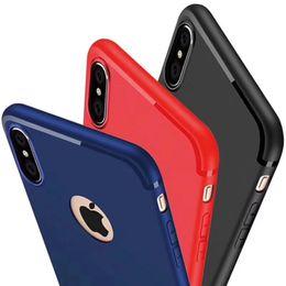Canada Vente en gros pour iPhone X 8 7 6S Plus ultra mince et souple TPU Slim Cover Skin Offre