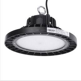 Wholesale High Bay Lights Fixtures - UFO led high bay light round led warehouse lamp IP65 LED industrial lighting fixture AC85-265V 100-120lm w 100W 150W 200W 250W