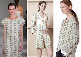 Wholesale Silk Tulle Fabrics - wholesale Geometric cellular double crepe silk Fabric dresses, print satin floral Process cheap-fabrics stripe tulle sexy scrapbooking B819