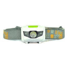 Wholesale Torch Headbands - Portable CREE R3 Headlamps 2 LED Flashlight Headlights Outdoors 300LM Headlight With Headband Hiking Camping Torch Free Shipping