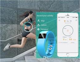 lg smart band Sconti 2015Hot TW64 Smart Braccialetti Bluetooth 4.0 di alta qualità impermeabile IP67 per Smart Wrist Band Fitness Iphone HTC Samsung LG Huawei DHL libero