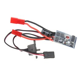 Wholesale Esc Brush Rc - 3Pcs RC 10A Brushed ESC Two Way Motor Speed Controller No Brake with Brake For 1 16 1 18 1 24 Car Boat