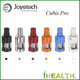 joyetech cubis Desconto Joyetech CUBIS Pro Atomizador 4ml Capacidade Copo Resistente Vazamento Design Topo Tanque de Controle de Fluxo de Ar Ajustável 100% Original