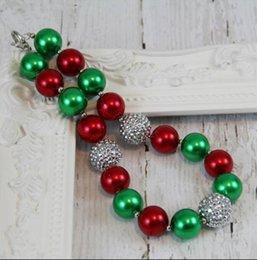 Wholesale Chunky Necklaces Girls Bubblegum - wholesale 10pcs lot Christmas Necklace, Baby Girls Chunky Necklace Girls Bubblegum necklace