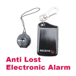 Wholesale Elderly Cell - New Arrival Wireless Anti Lost Alarm Reminder Personal Security Alarm Black and White For Kids, Luggage, Pets and Elderly