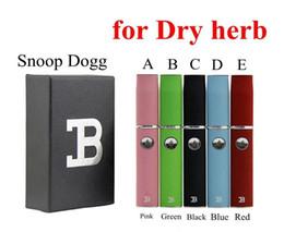 Wholesale Micro Herb - Micro Pen Dry Herb Vaporizer Kits Snoop Dogg Herbal Kit Wax Vapor Double B Kits vs Titan 2 also Provide G Pro DGK Blue with White Black 2.0