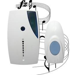 Wholesale Doorbell Home Door - 32 Tune Songs Remote Control Mini LED Wireless Chime Home Door Bell Doorbells Ring