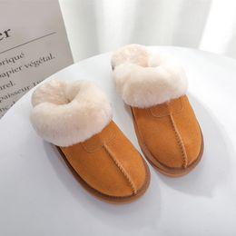 Wholesale Winter Slippers For Men - 2018 autumn winter household wool slippers fur slippers for men and women slippers maomao drag baotou