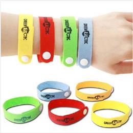 2019 bandes pour les hommes Nouvelle arrivée! Bracelets anti-moustiques anti-moustiques Pure Natural Baby femmes et hommes bracelet anneau à la main 1994 bandes pour les hommes pas cher