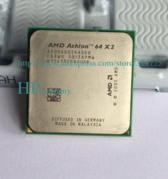 Wholesale Dual Cpu Computer - Wholesale-AMD CPU Athlon 64 X2 5600+ (2.9GHz AM2 940pin) Dual-Core Processor desktop cpu