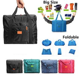 Wholesale Tidy Trunk Bag - Large Size Travel Storage Bag Luggage Clothes Tidy Organizer Pouch Polyester Suitcase Handbag Case Storage Bags YYA284