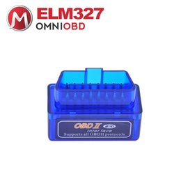 Wholesale vw bluetooth adapter - High Recommend Mini ELM327 Bluetooth 4.0 Works ON Android  IOS Adapter V1.5 OBD2 Diagnostic Tool ELM 327 4.0 Free Shipping