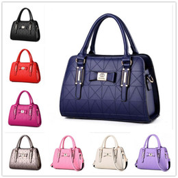 Wholesale Orange Checking - Nice Lady bags handbag Stereotypes sweet fashion handbags Shoulder Messenger Handbag.