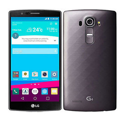 Wholesale Cell Phones Original 4g - Original Unlocked LG G4 H815 Quad Core Android 5.1 3GB ROM 32GB 5.5 inch Cell Phone 4G LTE Refurbished