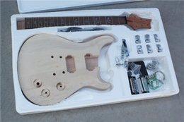 Wholesale Rosewood Neck - Semi-finished Electric Guitar with Mahogany Body and Neck,Maple Top,Rosewood Fretboard and Can be Customized