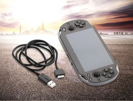 Wholesale Vita New - New 1M 2in1 For Playstation PS Vita USB Data Sync Power Charge Cable Cord