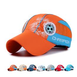 2019 sportnetzhüte Sommer Jungen Mädchen Ball Net Outdoor Wasserdichte Hut Dome Cap Sport Baseballmütze Snapback für Kinder Kinder Sonnenhut GH-19 günstig sportnetzhüte
