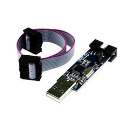 Wholesale Usbasp Isp Programmer - Free Shipping 5Pcs lot USBASP USBISP AVR Programmer USB ISP USB ASP ATMEGA8 ATMEGA128 Support Win7 64K