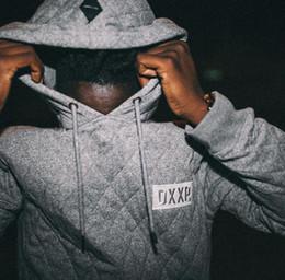 Wholesale Tyga Fashion - Wholesale-Hoodies Sweatshirts Men Hoodies Raglan sleeve Hip Hop Streetwear solid hooded fashion Tyga Sportswear Kanye West Clothing