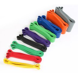 Wholesale Fitness Exercise Bands - Resistance Bands Exercise Loop Crossfit Strength Training Workout Fitness Yoga