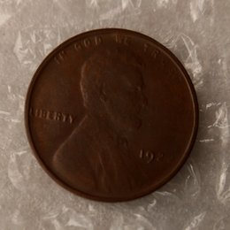 Wholesale Collectible Carvings - Lincoln Cents 1922 One Cents Coins Retail Archaize Old Looking US Coins Copper Crafts Coins\Whole Sale Free Shipping