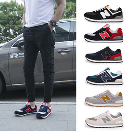 Wholesale Platforms Sneakers For Women - New Fashion Couple Casual Shoes Wear-resisting Platform Running Shoes Ventilation Comfort Sneakers Size 36-44 Suitable For Men And Women