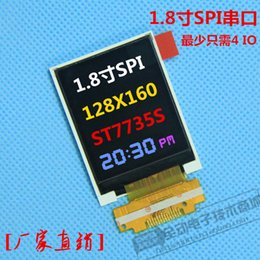 Wholesale Tft Lcd For Arduino - Wholesale-1.8 Inch 128*160 Serial SPI TFT Color LCD Module Display ST7735 With SPI Interface 5 IO Ports for Arduino 1.8'' 128x160
