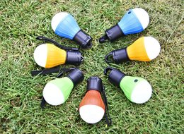 Deutschland Großhandel 240pcs / lot Outdoor Camping hängen LED Zelt Glühbirne Angeln Laterne Lampe Versorgung