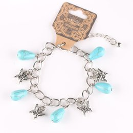 Wholesale Turquoise Butterfly Jewelry - New arrival Hot sale bracelets & bangles silver plated turquoise butterfly bracelet for women vintage jewelry pulseras mujer