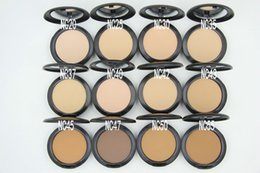Wholesale pcs controls - Hot Sales Makeup Studio Fix Face Powder Plus Foundation 15g 10 Pc