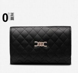 Wholesale ladies quilted shoulder bags - 2016 new women Korean version of the small fragrant wind Quilted Shoulder Messenger packet fashion stereotypes